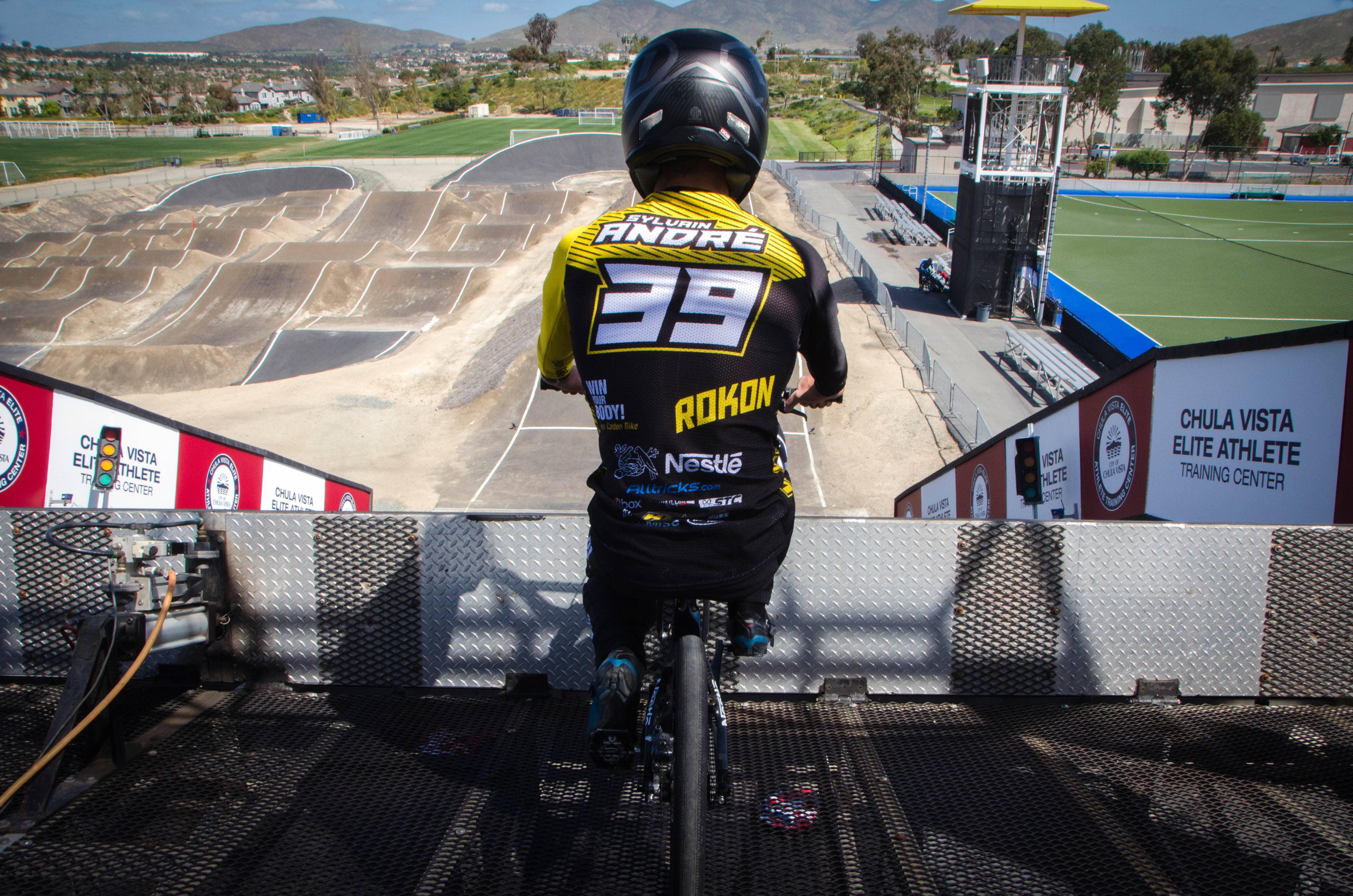 Sylvain André, Voodooride Sponsoring BMX