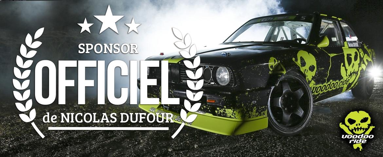 sponsor officiel de Nicolas Dufour
