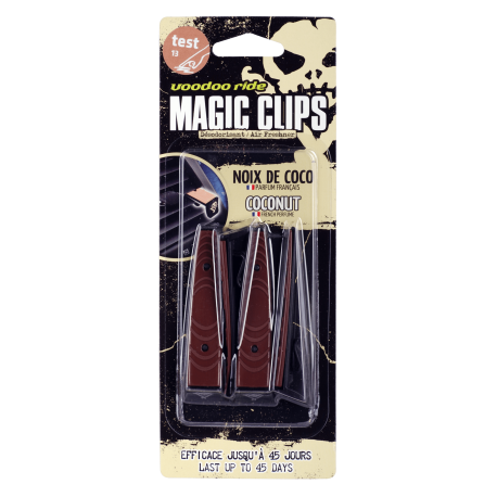 VOODOO MAGIC CLIPS Coconut