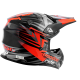 CASQUE CROSS VOODOO RIDE ICON RED SC15 XS