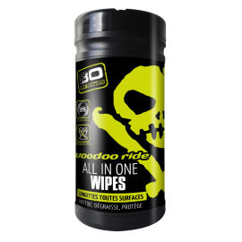 Lingettes Toutes Surfaces - All In One Wipes Voodoo Ride