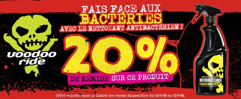 offre nettoyant antibactérien